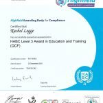 HABC Level 3 Award in Education and Training - Microsoft Office Training Word: Worcestershire, Warwickshire, Gloucestershire, Birmingham, West Midlands from JPL