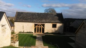 Photograph of the barn where the Bespoke Intermediate Excel Training was carried out
