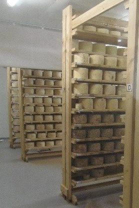 Harvey and Brockless cheese room