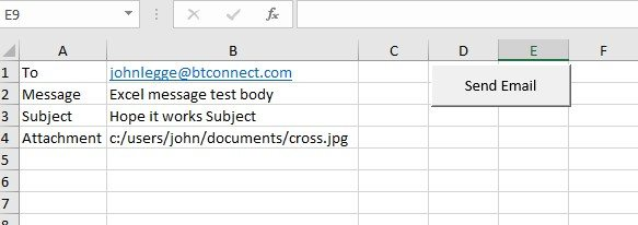 New Excel course - Screen shot of Macro exercise in Excel