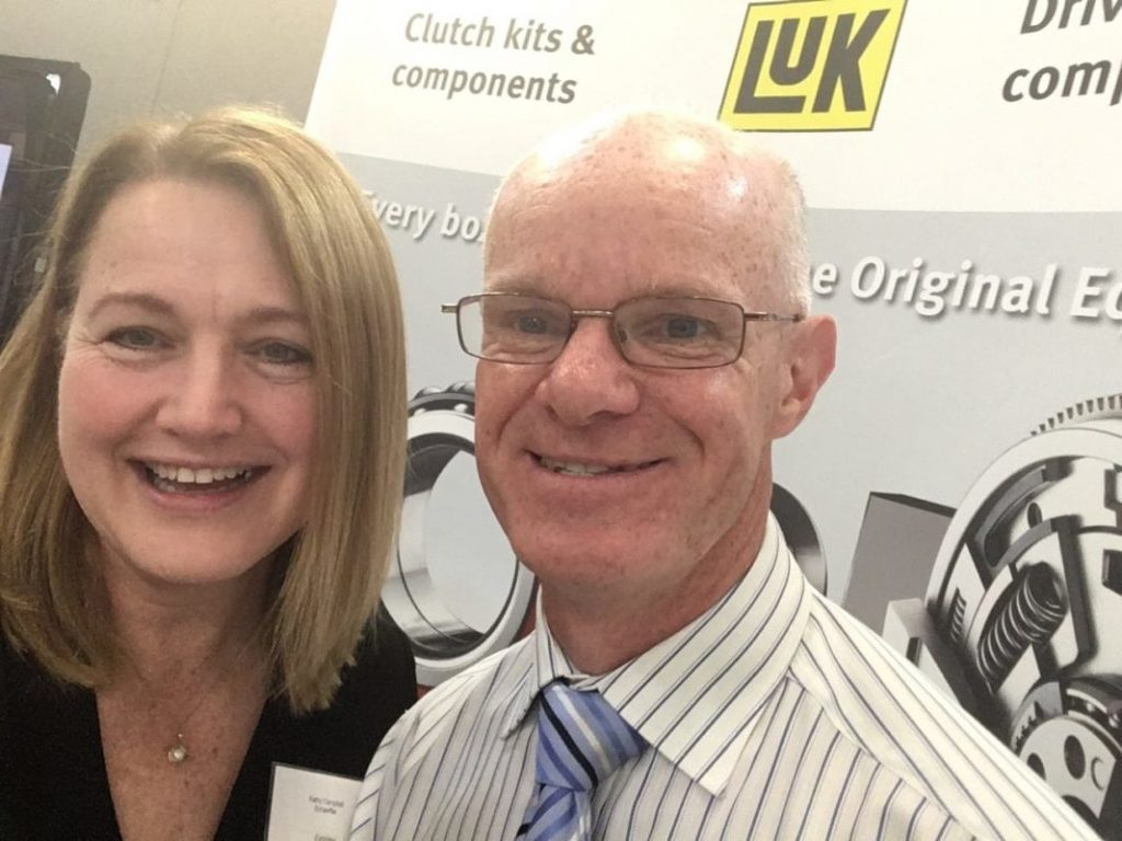 John and Kathy at HW Chamber Expo
