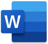 Word and PDF: Word icon