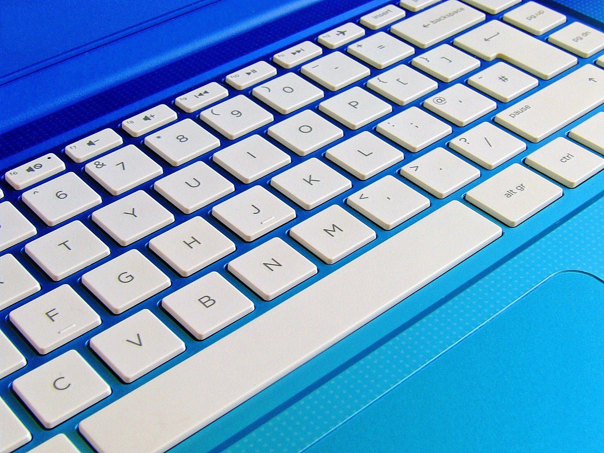 Microsoft Office Course: laptop keyboard