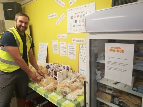 Shrewsbury Food Hub: Dan Community fridge