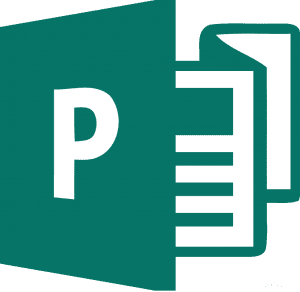 Publisher useful features: Publisher icon