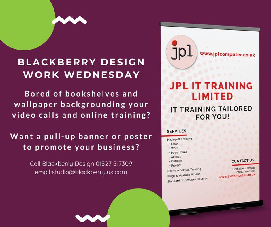 Blackberry Design Work Wednesday