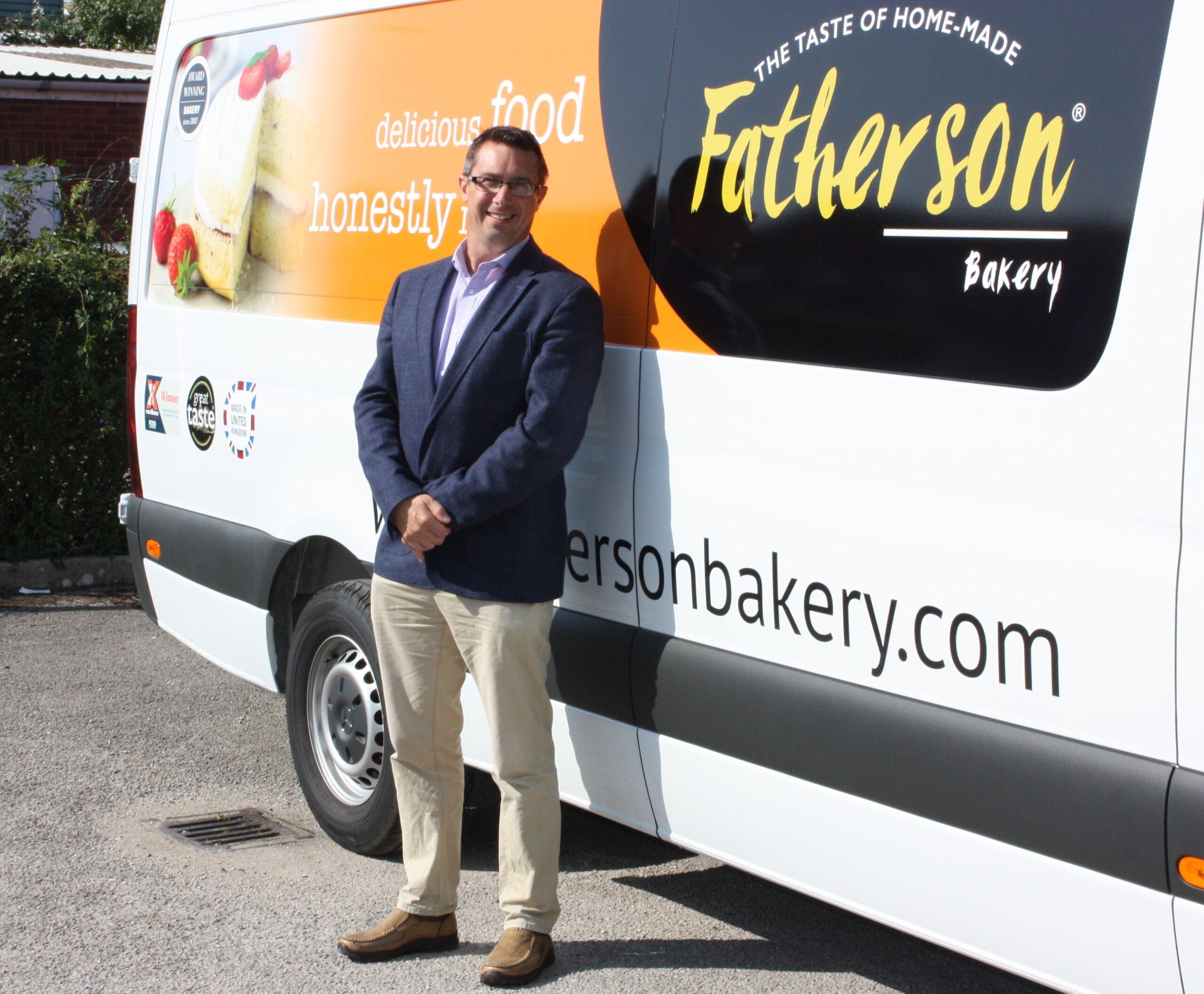 Fatherson Bakery Testimonial: next to van image