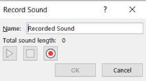 6 MS Office shortcuts: recording a voice over
